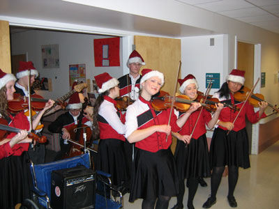 The Saline Fiddlers at the VA Hospital