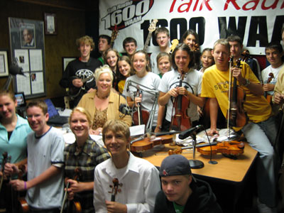The Saline Fiddlers with Lucy Ann Lance